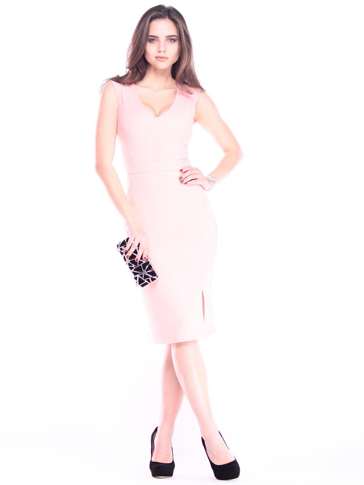 Платье персикового цвета   2962695