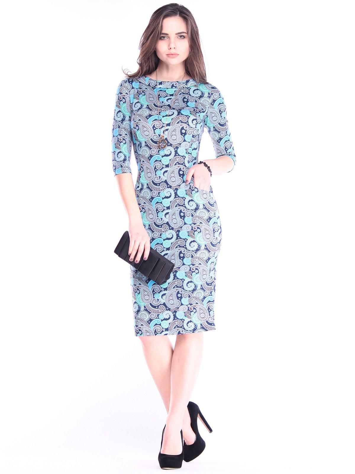 Платье в принт   2995901