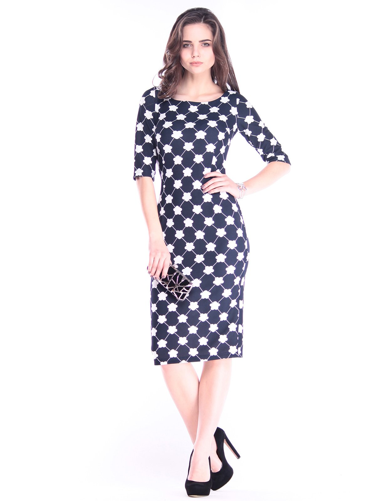 Платье в принт | 2995916