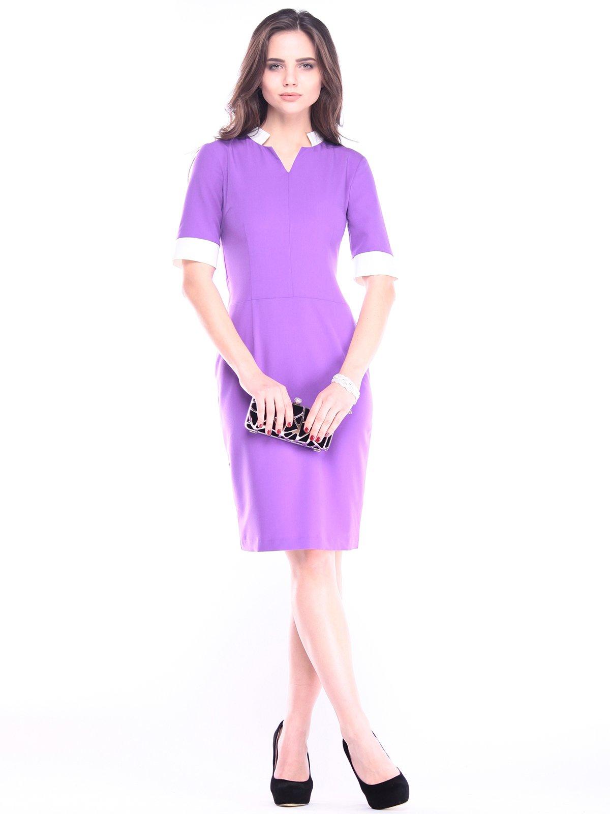 Платье сиренево-молочное | 2996587