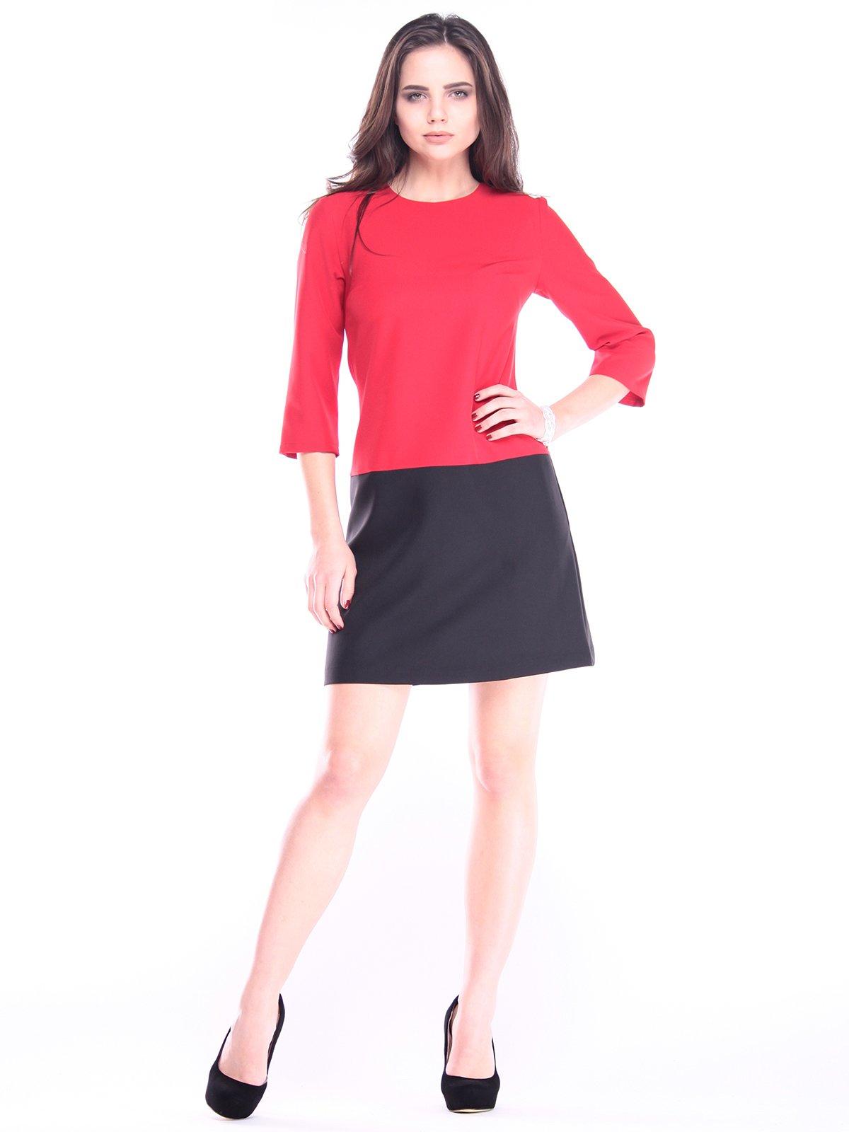 Платье красно-черное | 2996597