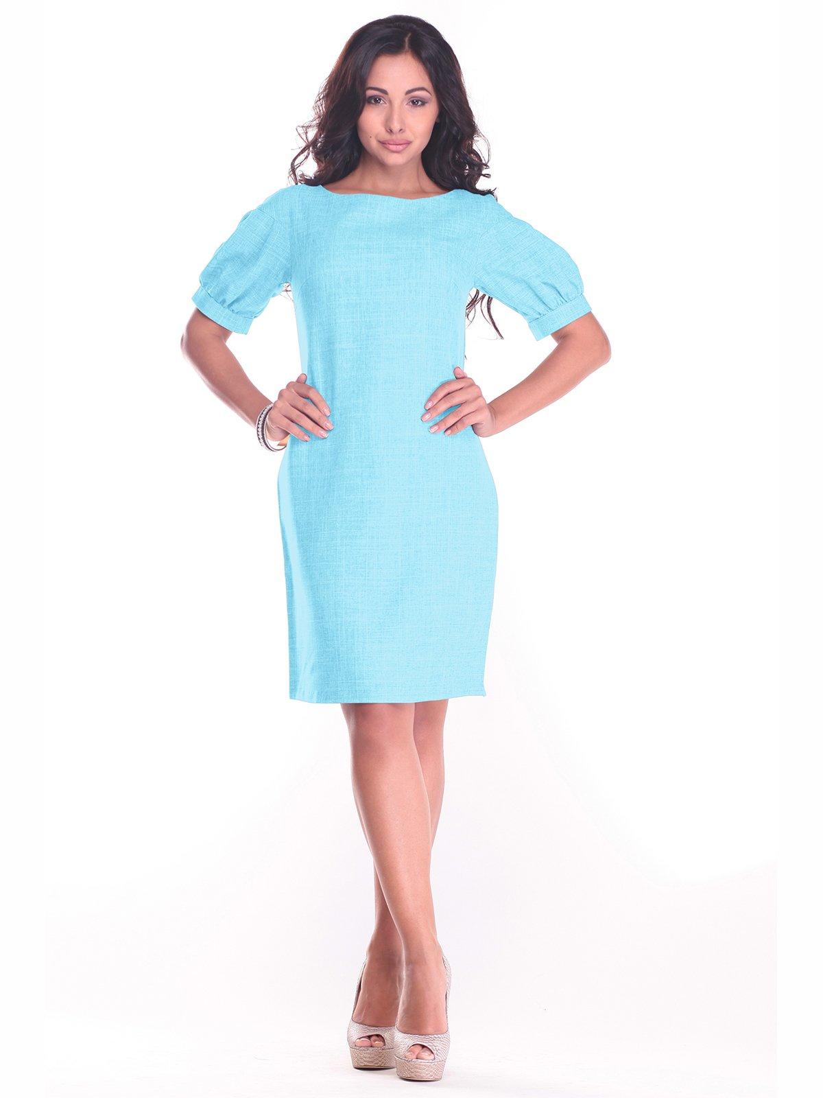 Сукня світло-бірюзова | 3398201