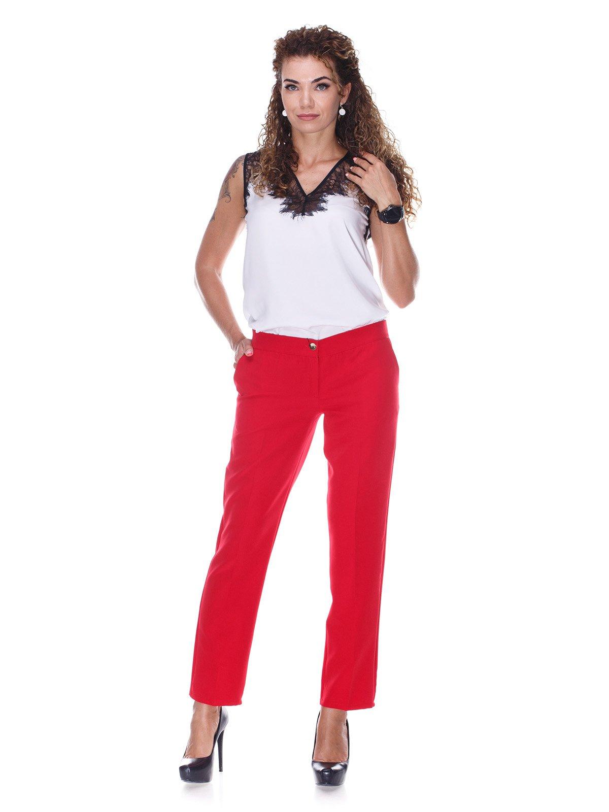 Штани червоного кольору | 3366126