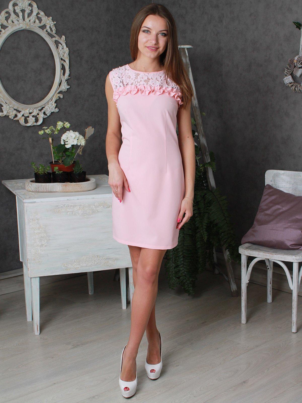 Платье розовое | 3405919