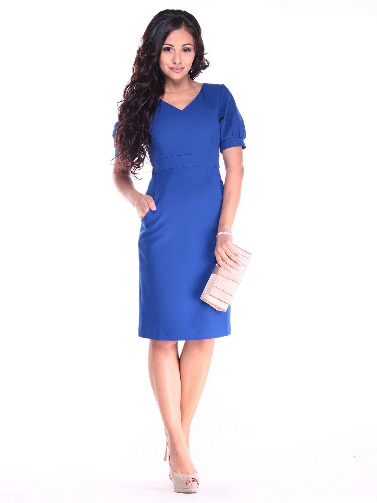 Платье цвета электрик | 2900649