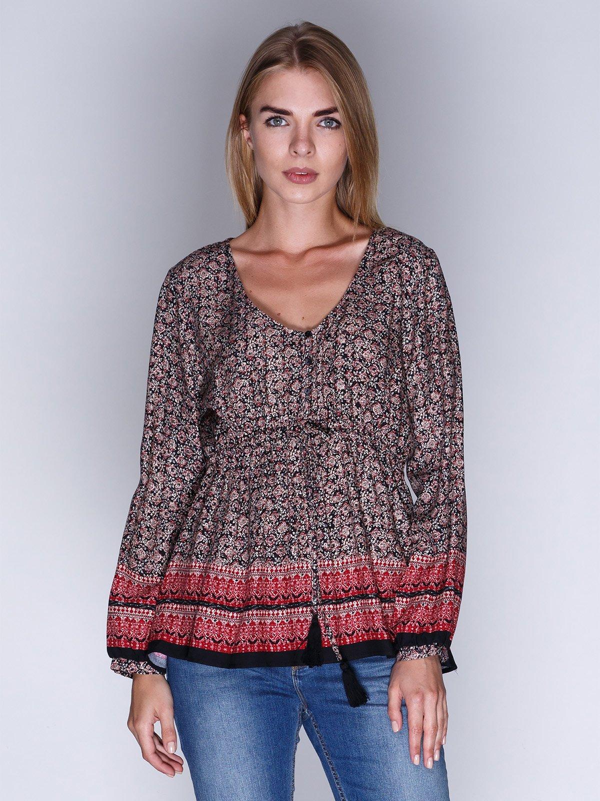 Блуза в принт | 3010027