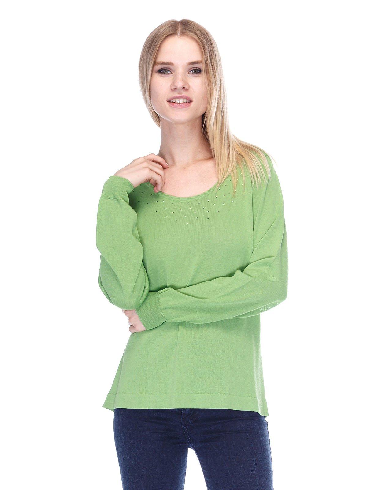 Джемпер зелений | 3400107