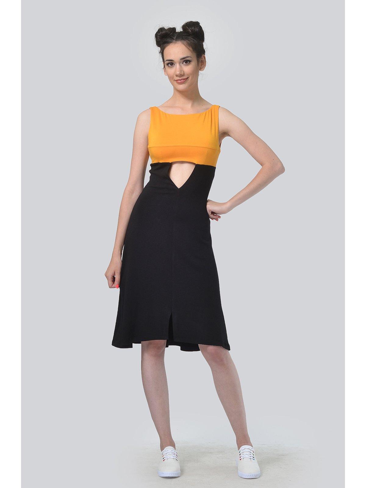 Платье двухцветное | 3409895