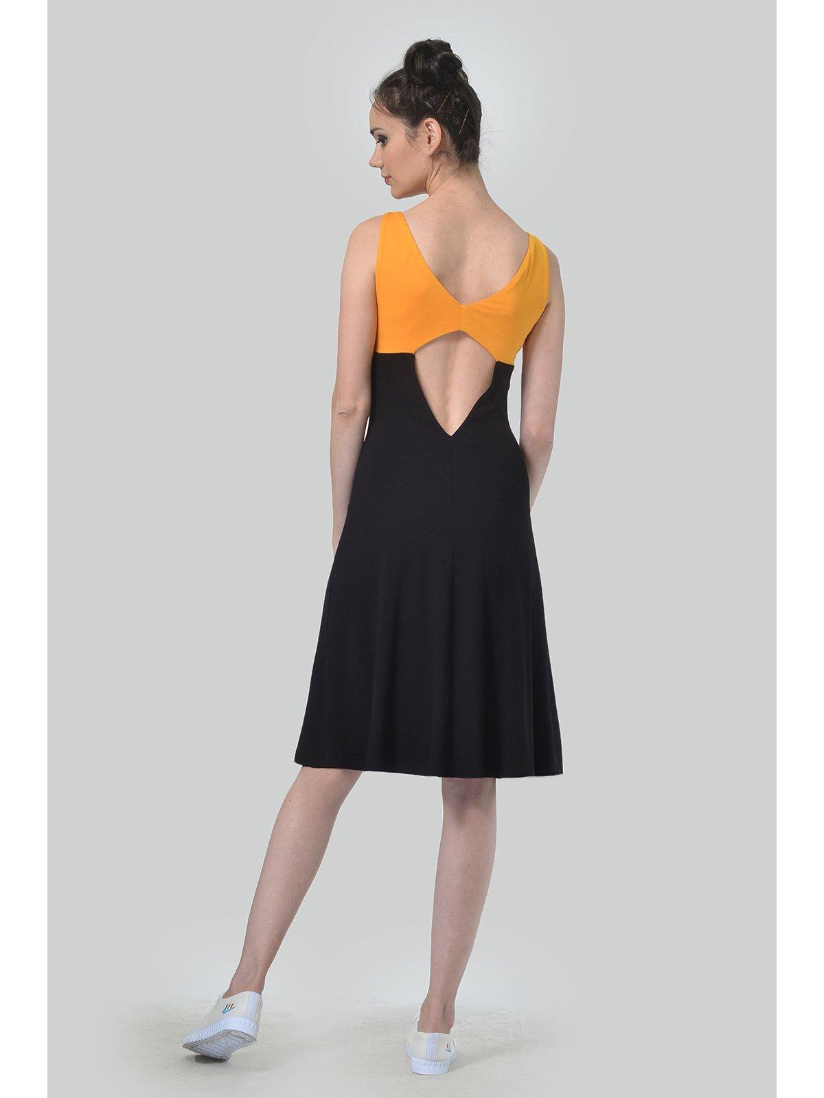 Платье двухцветное | 3409895 | фото 2