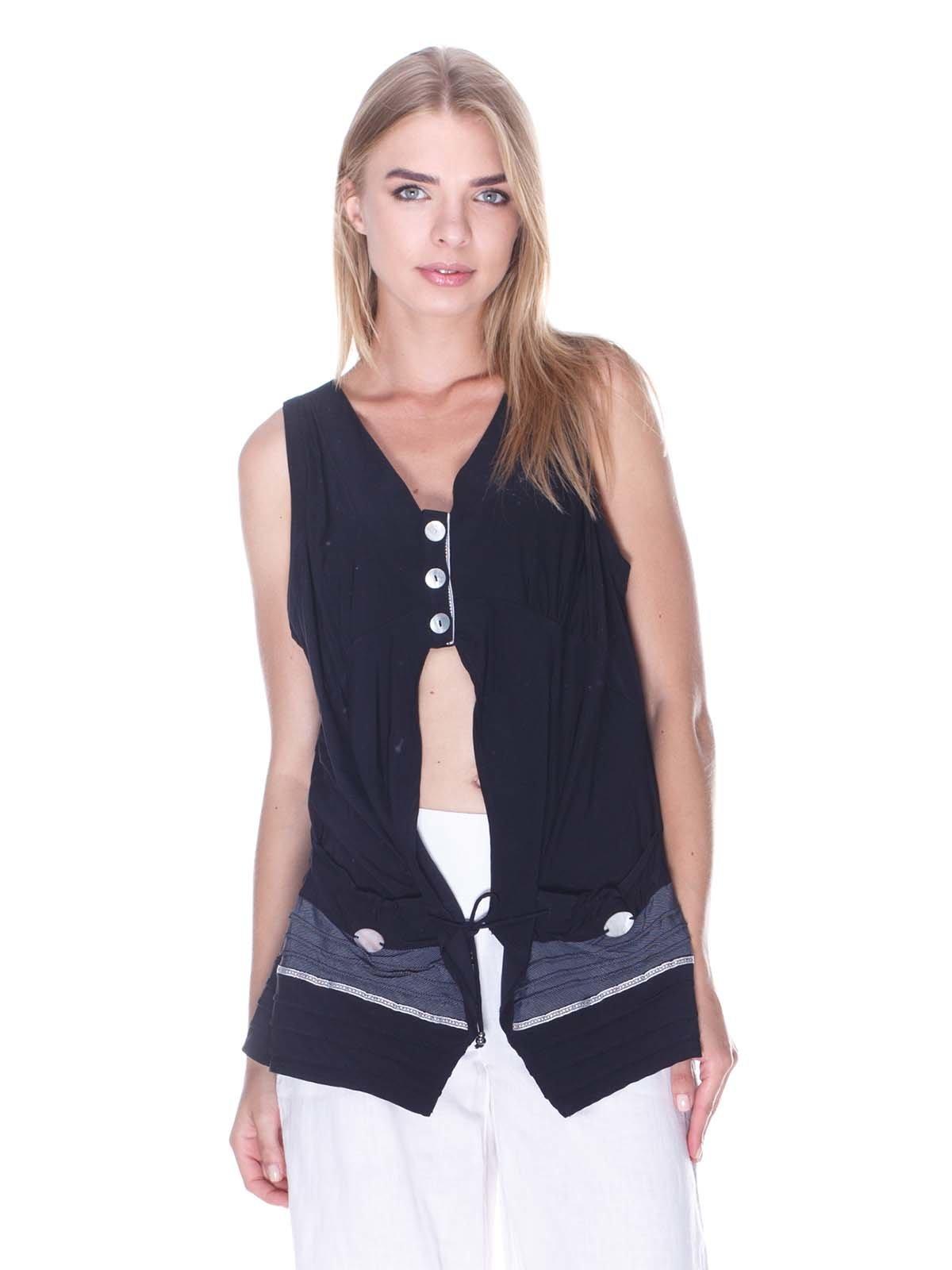 Блуза чорна | 3400023