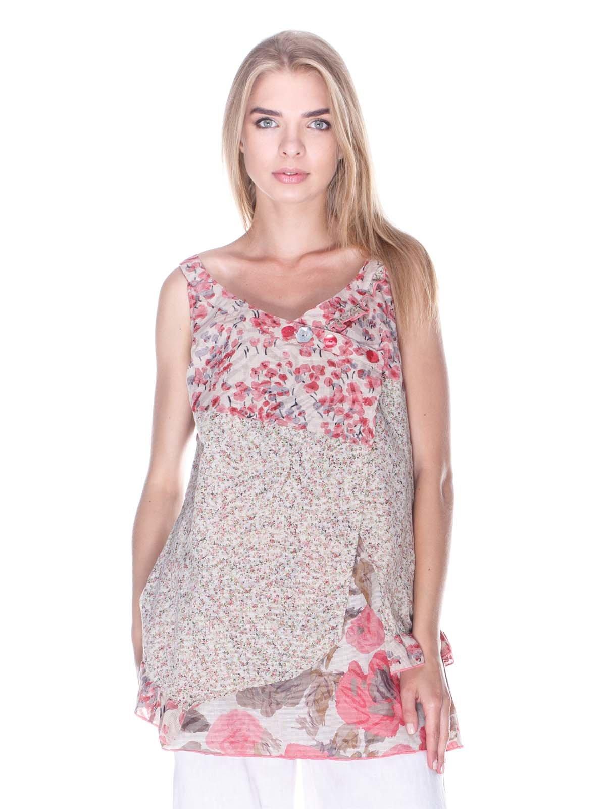 Блуза в квітковий принт   3400015
