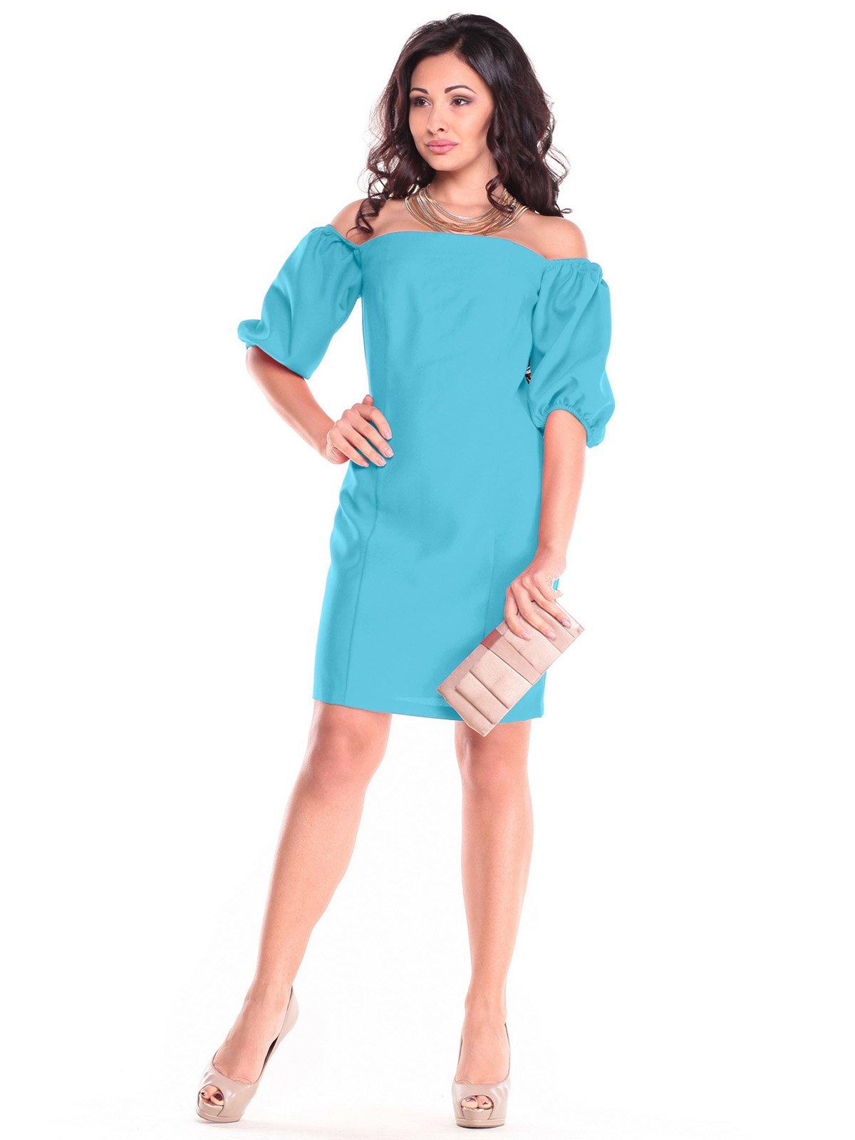 Сукня кольору зеленої бірюзи | 3323505