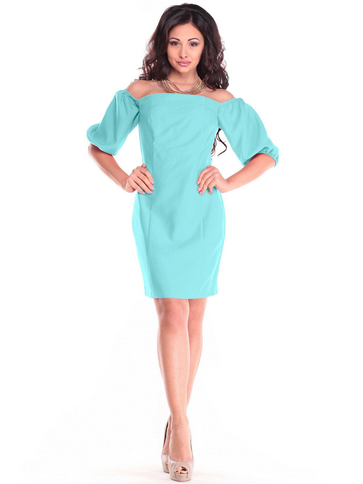 Сукня ментолового кольору | 3323506