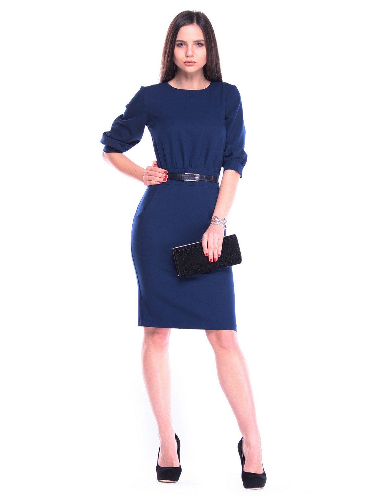 Платье синее | 3323526