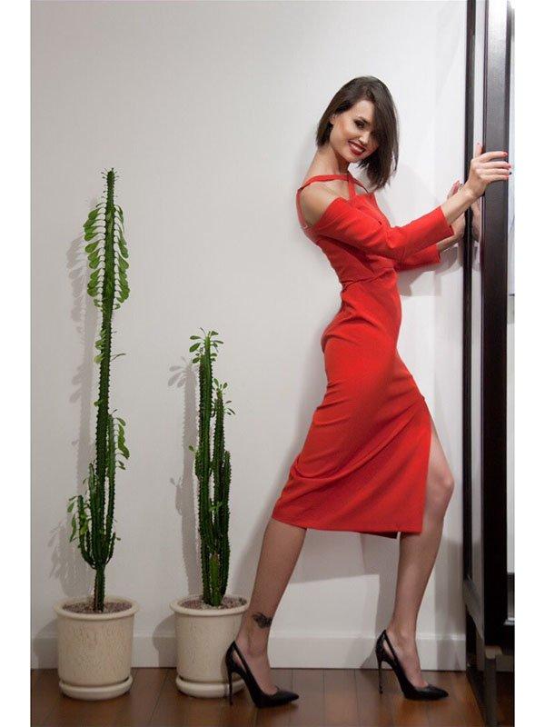 Платье красное   3225602