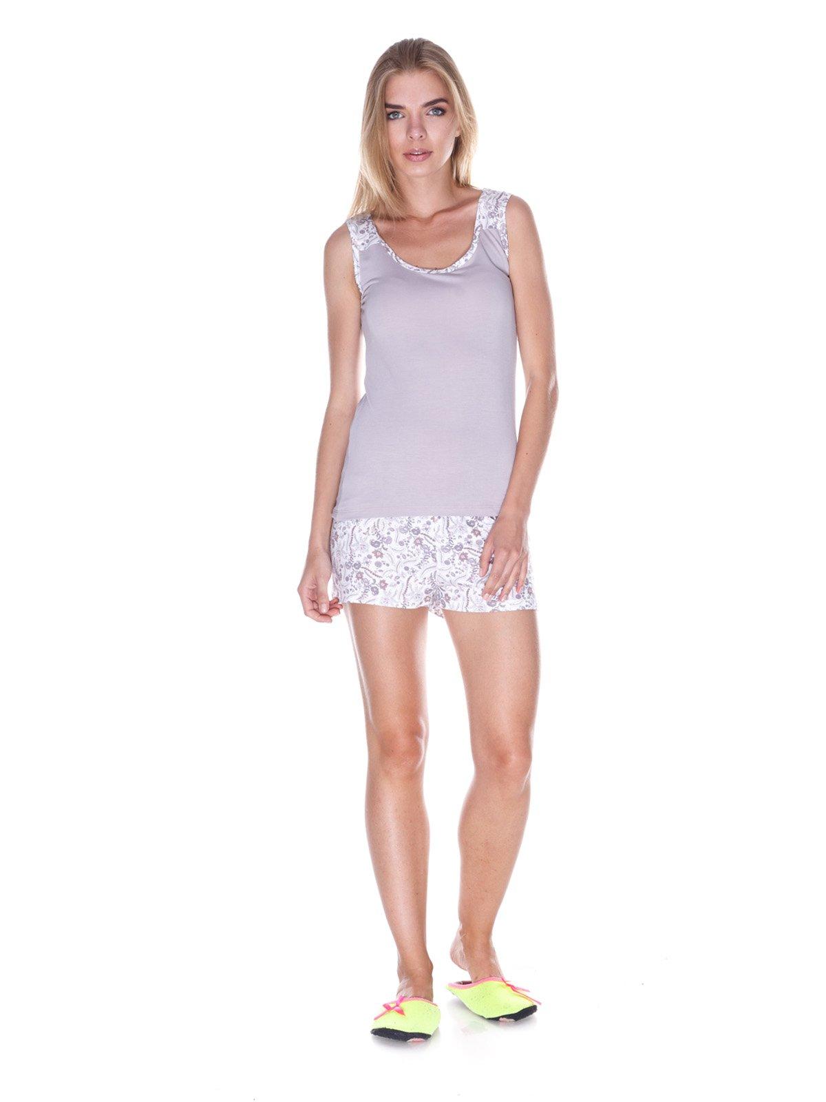 Пижама: майка и шорты | 3240345
