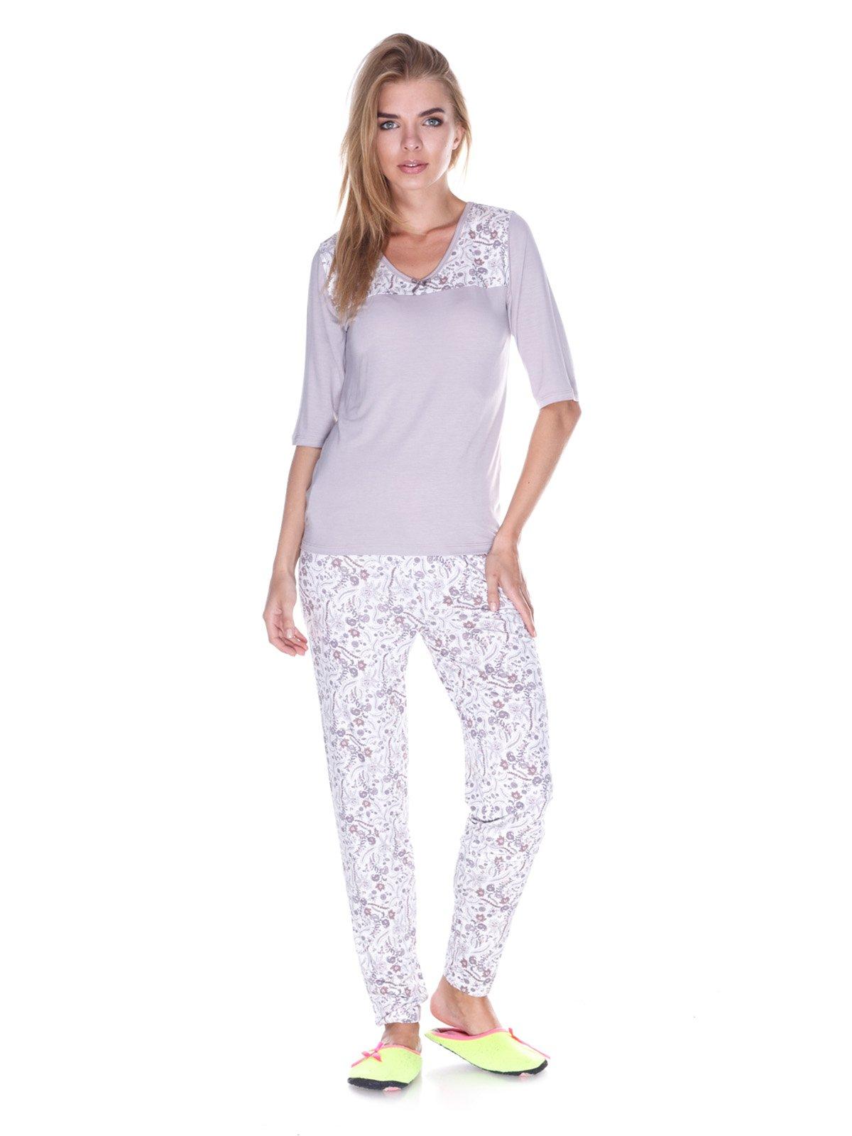 Пижама: лонгслив и брюки   3240352