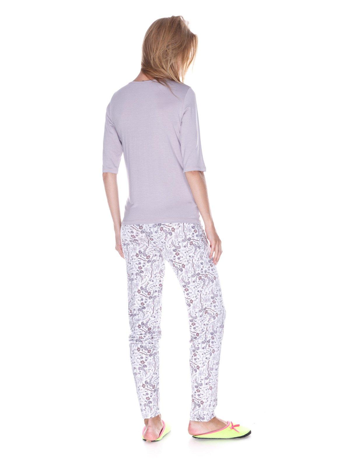 Пижама: лонгслив и брюки   3240352   фото 2