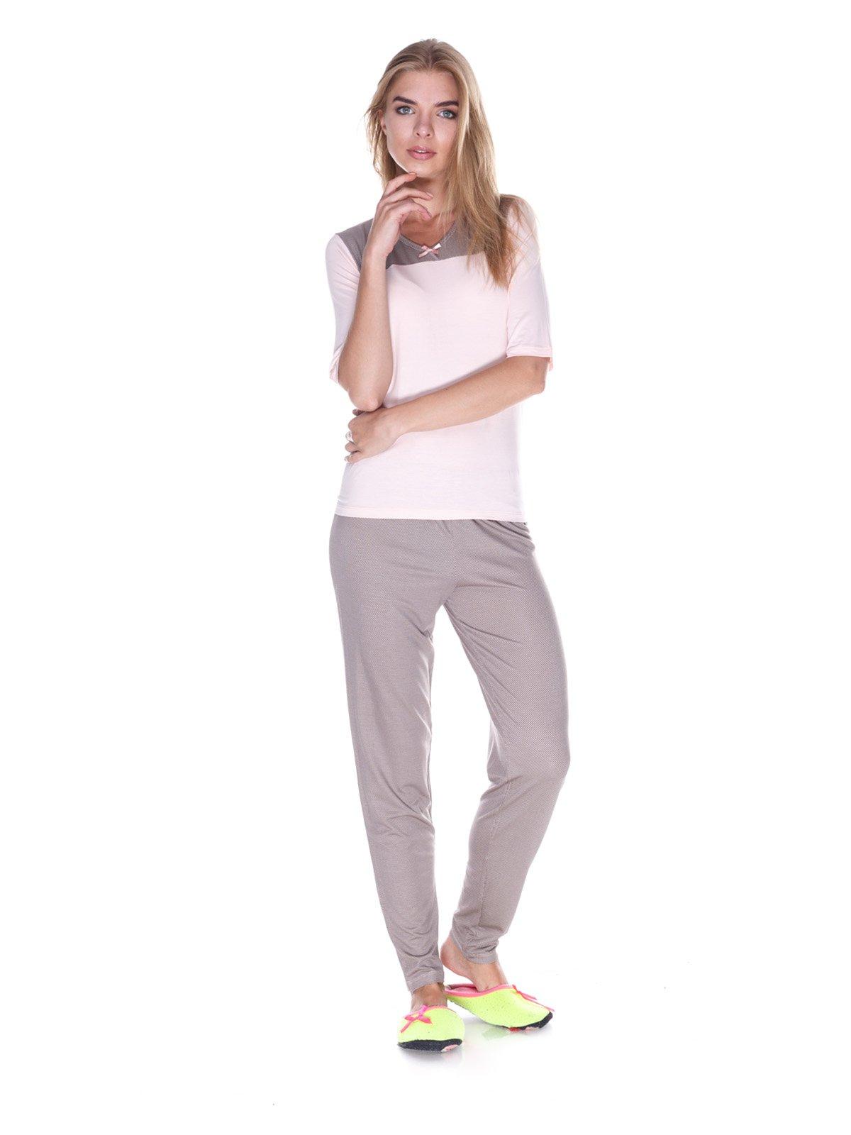 Пижама: лонгслив и брюки   3240344