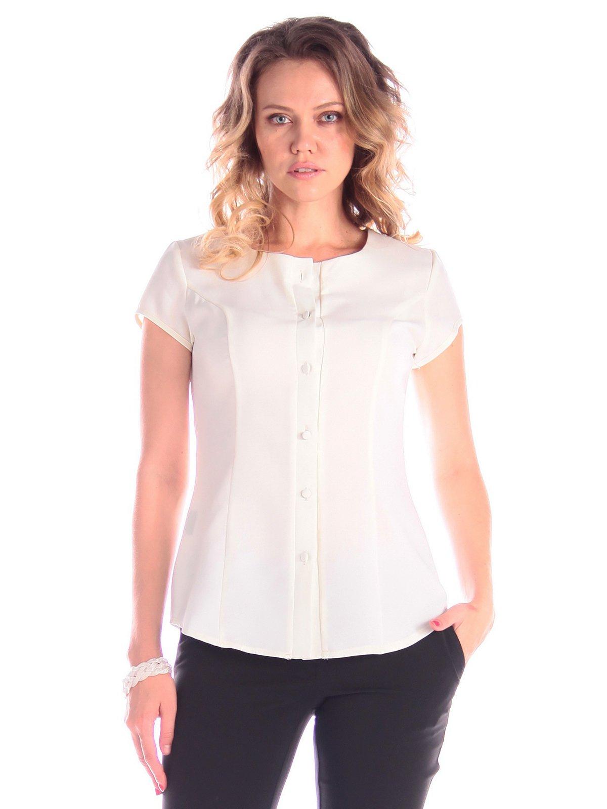 Блуза молочного кольору | 3420796