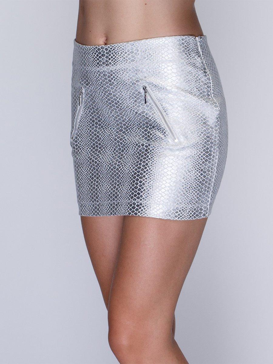 Спідниця срібляста | 1259923 | фото 4
