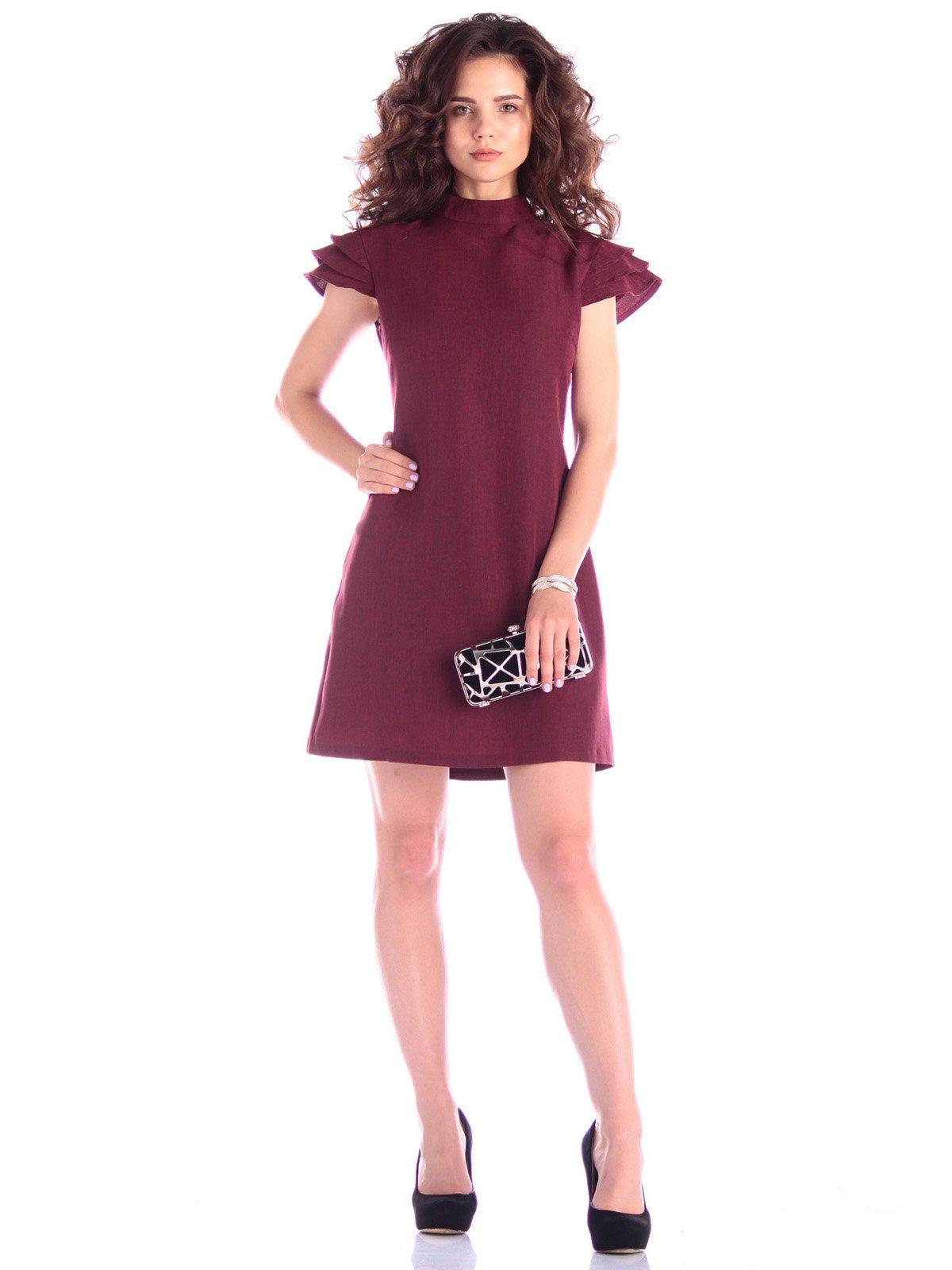 Платье темно-сливового цвета | 3430200