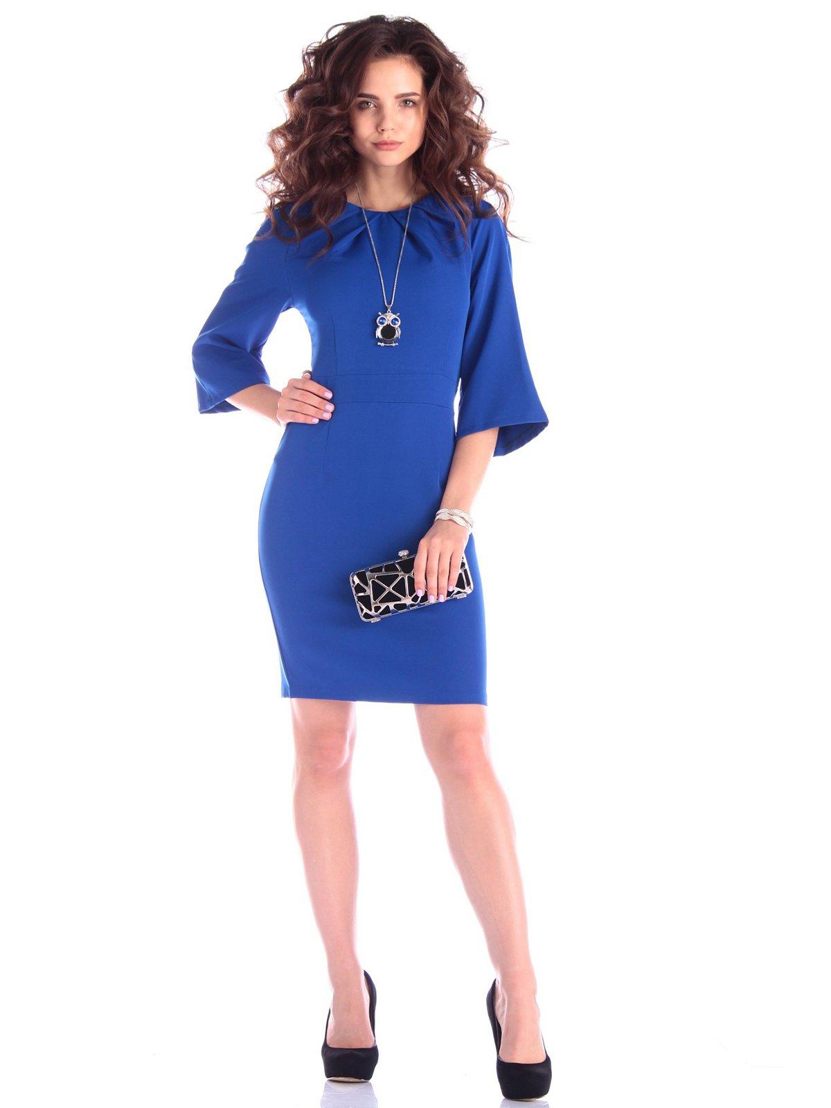 Сукня кольору електрик | 3430417