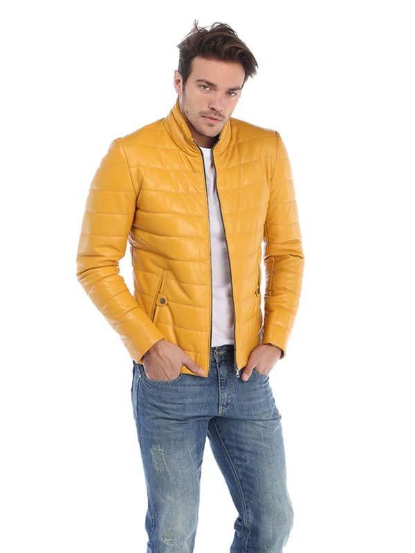Куртка жовта | 3190535 | фото 3