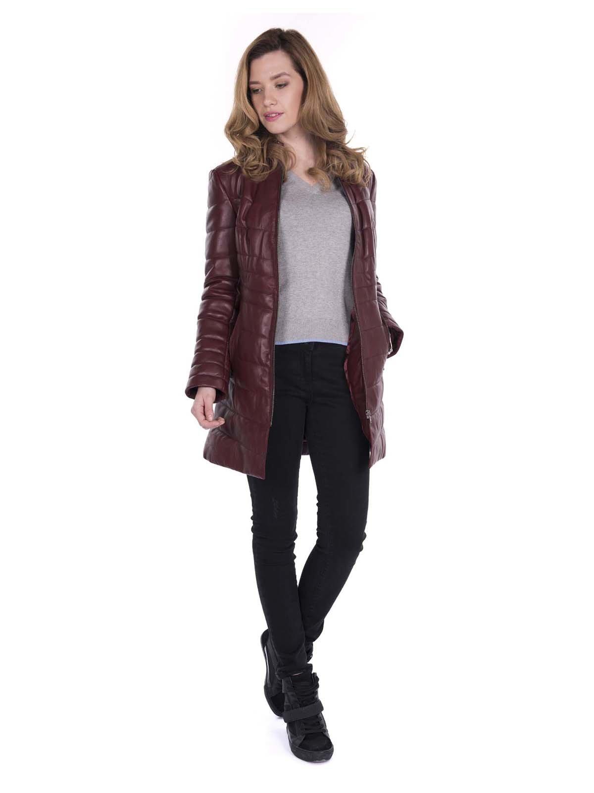Куртка бордовая | 3420800