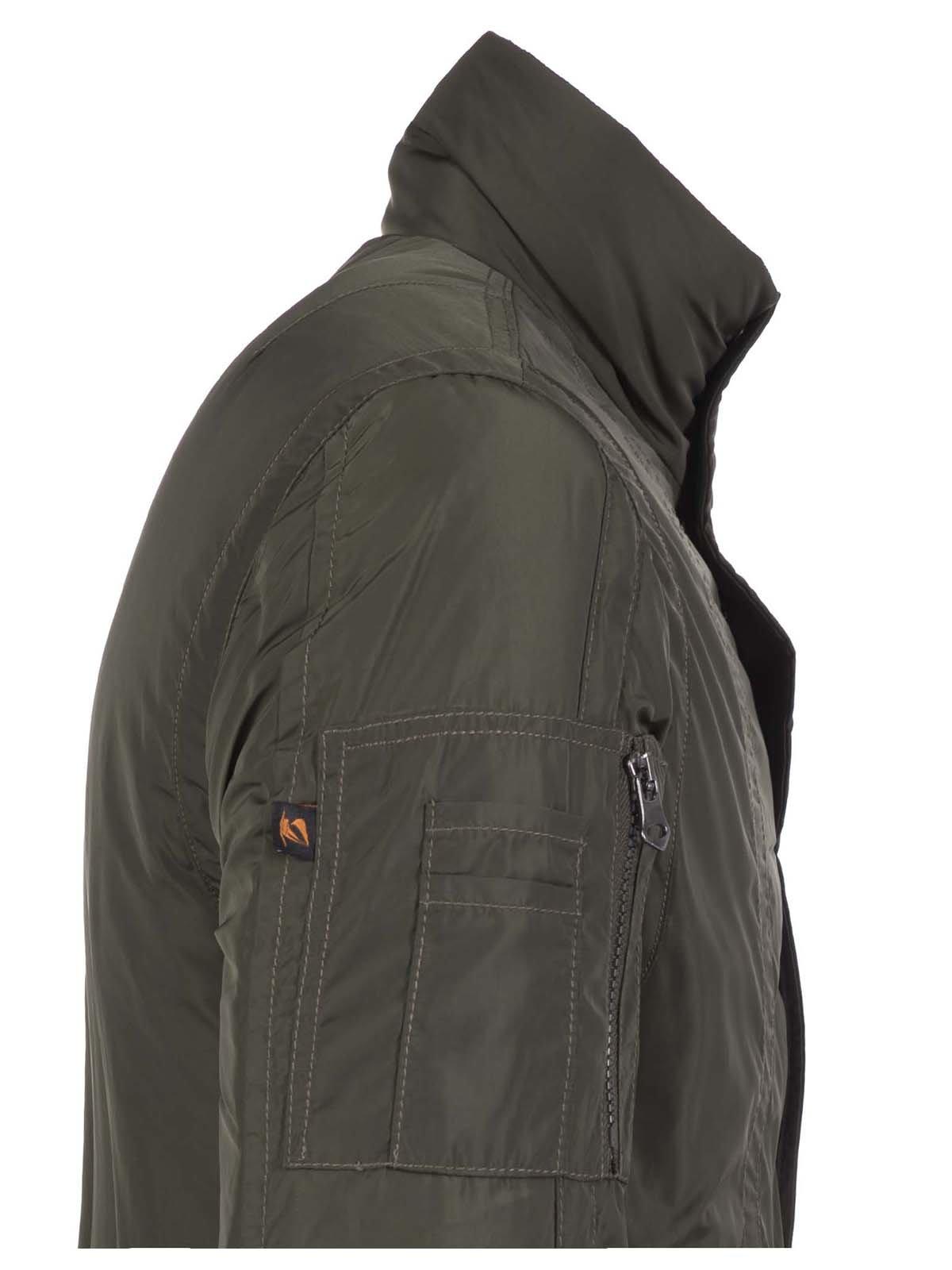 Куртка цвета хаки | 3420909 | фото 2