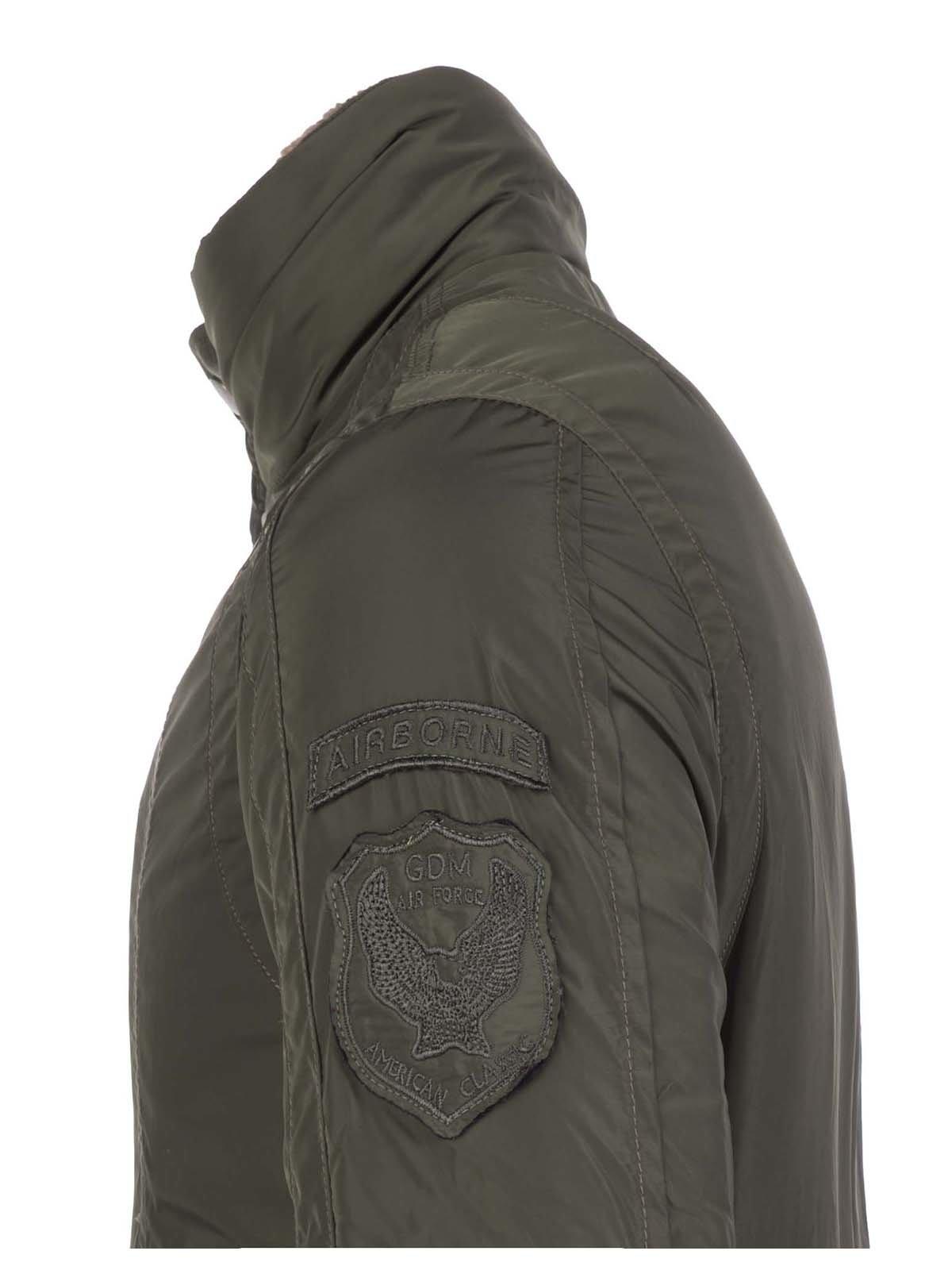 Куртка цвета хаки | 3420909 | фото 3
