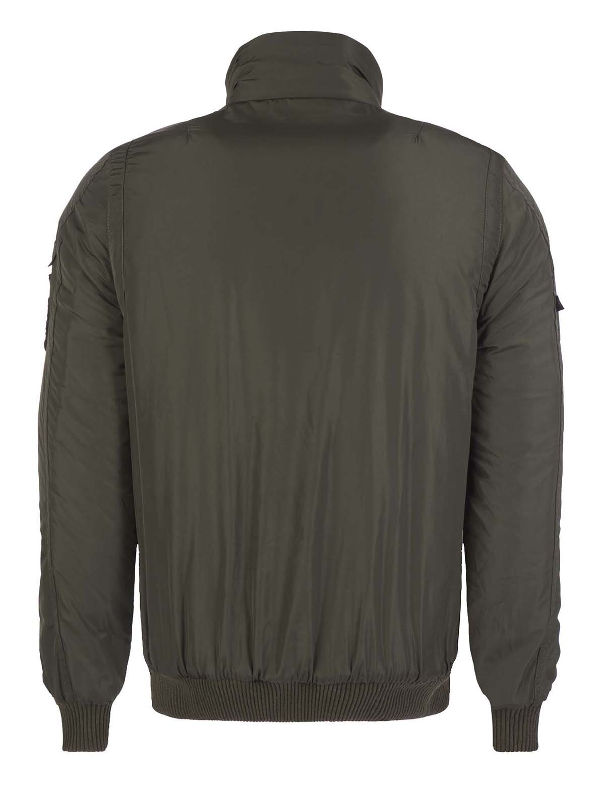 Куртка цвета хаки | 3420909 | фото 4