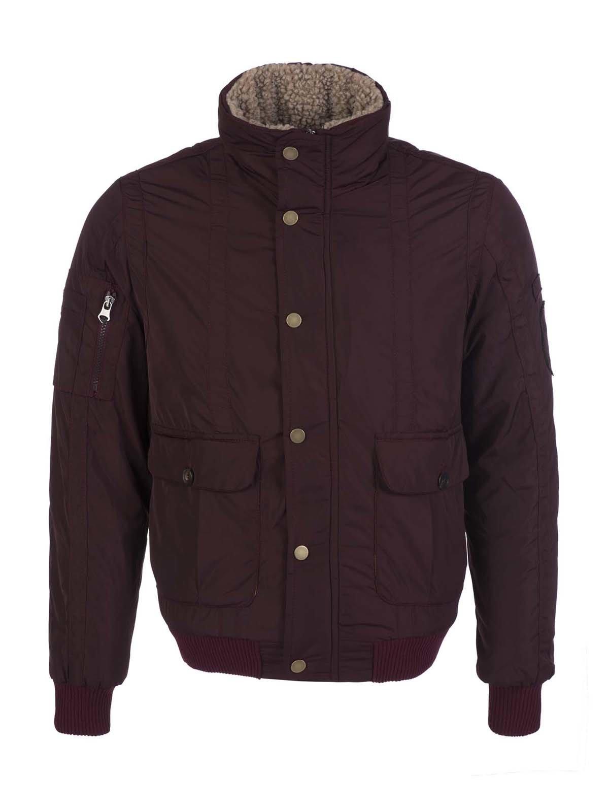 Куртка бордовая | 3420910
