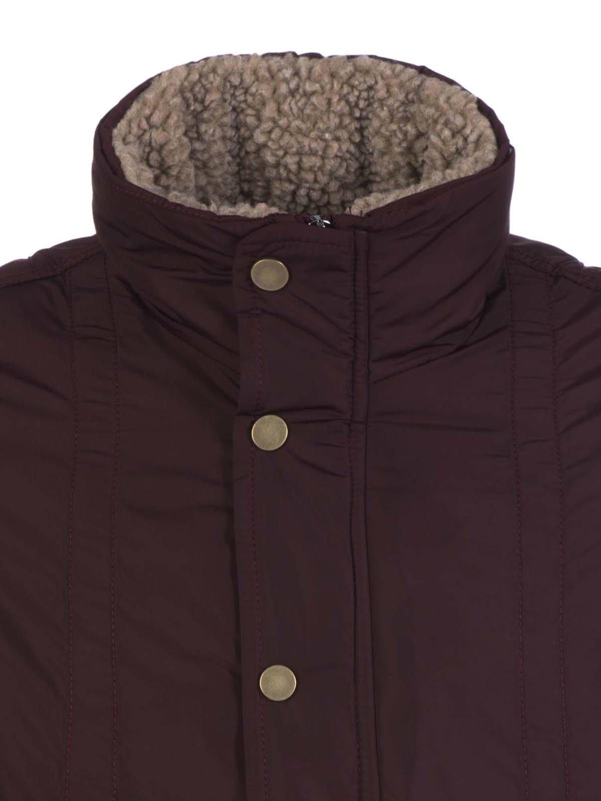 Куртка бордовая | 3420910 | фото 2