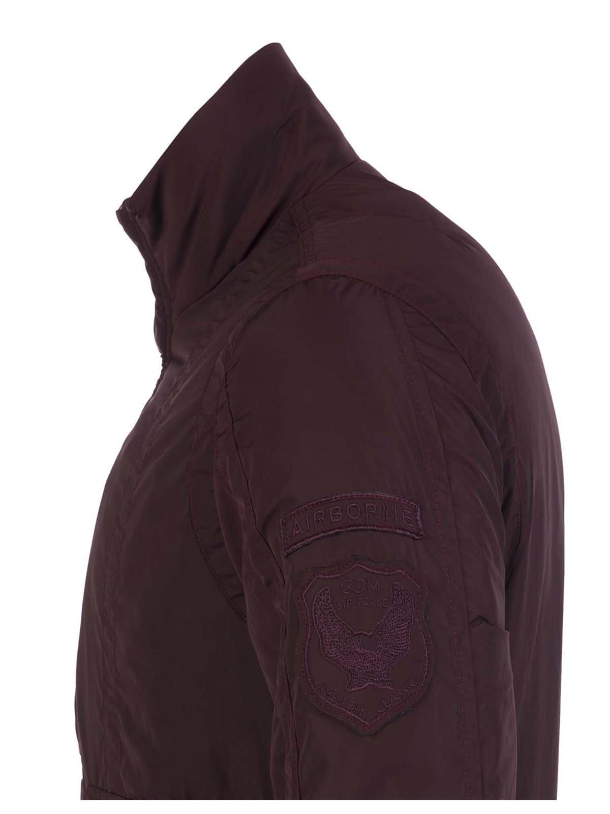 Куртка бордовая | 3420910 | фото 4