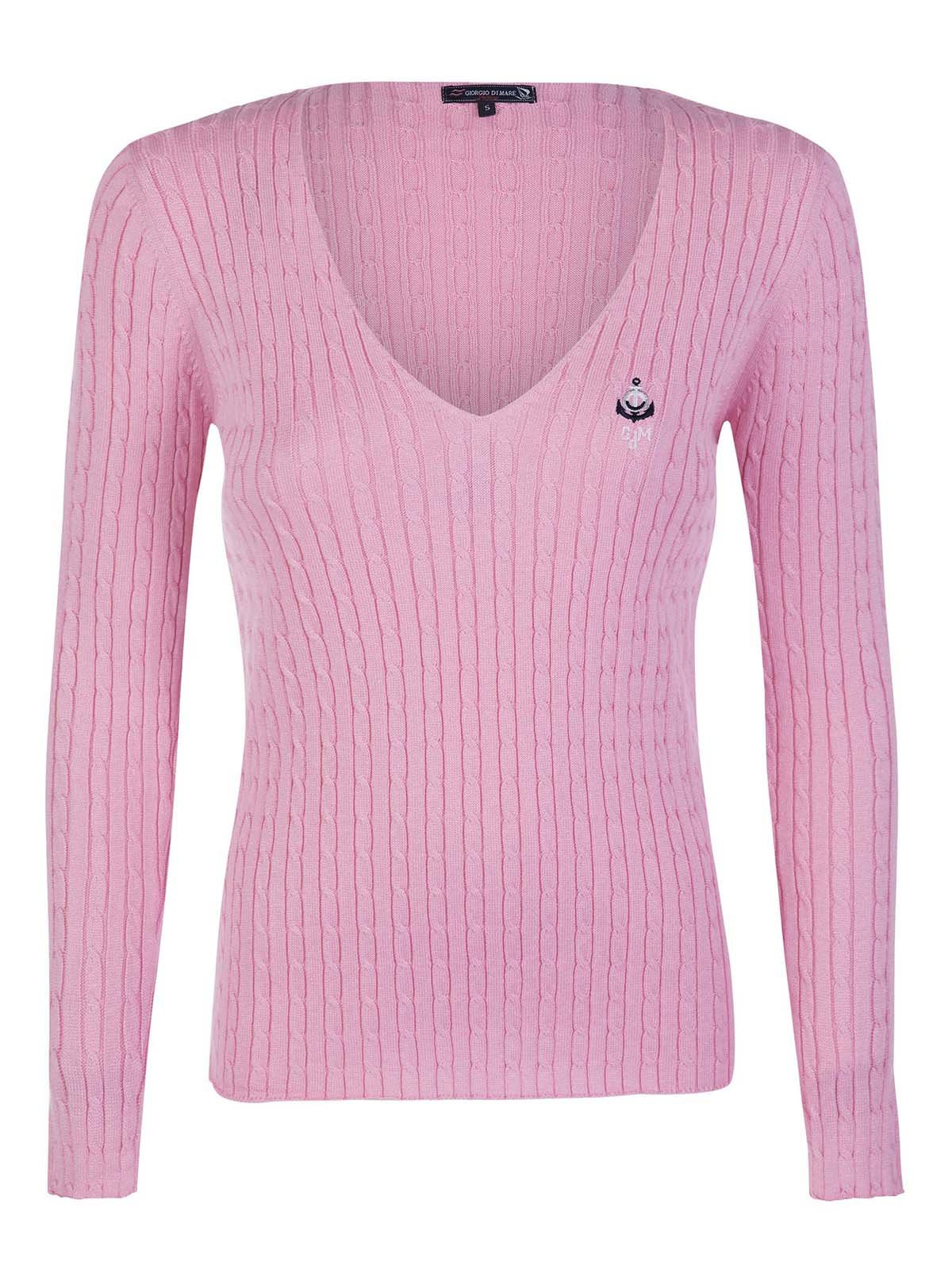 Пуловер розовый   3420932