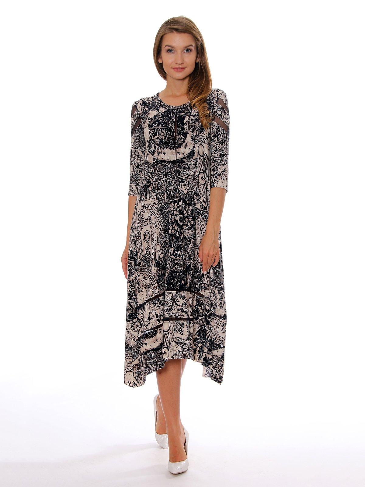 Платье в принт | 3429265