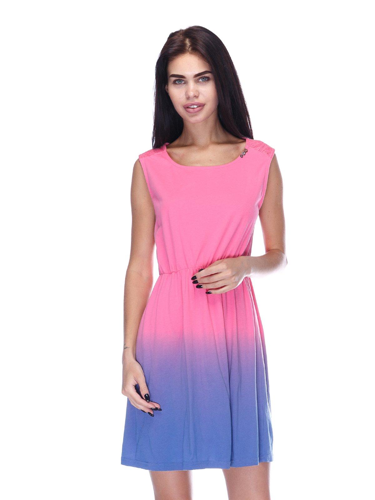 Платье розово-фиолетовое | 3431608