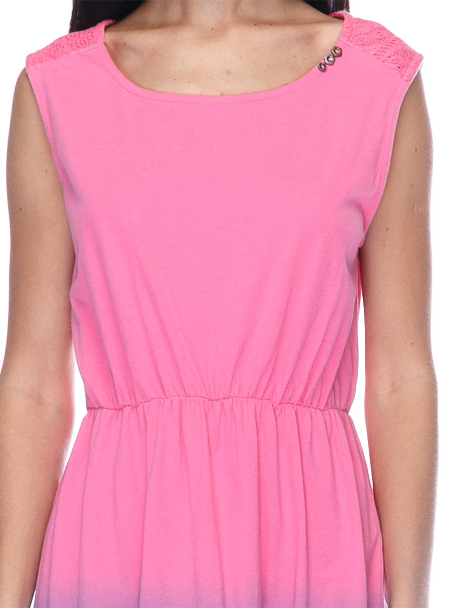 Платье розово-фиолетовое | 3431608 | фото 3