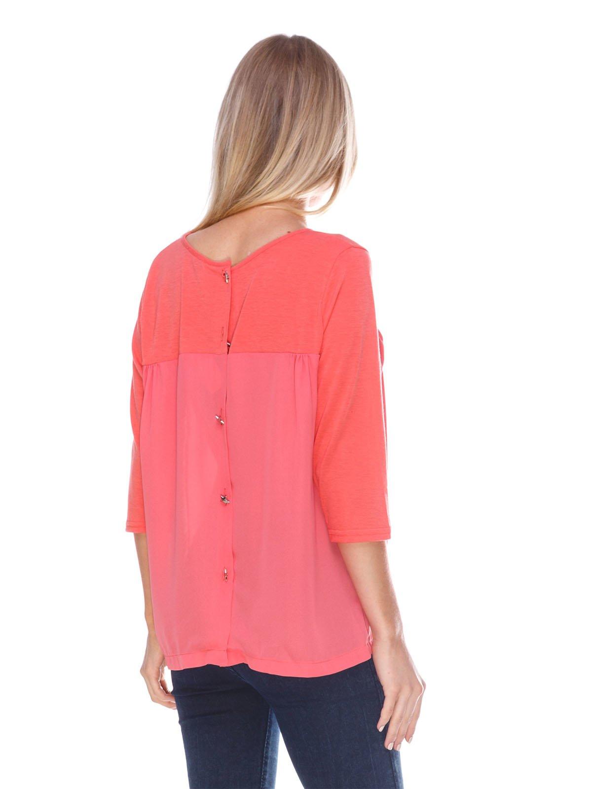 Блуза коралловая   3423802   фото 2