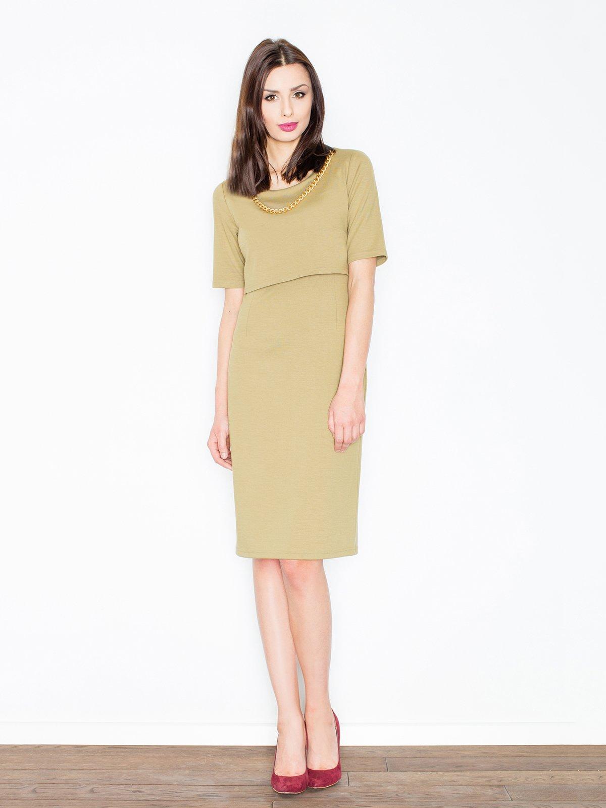 Платье зеленое | 3440617
