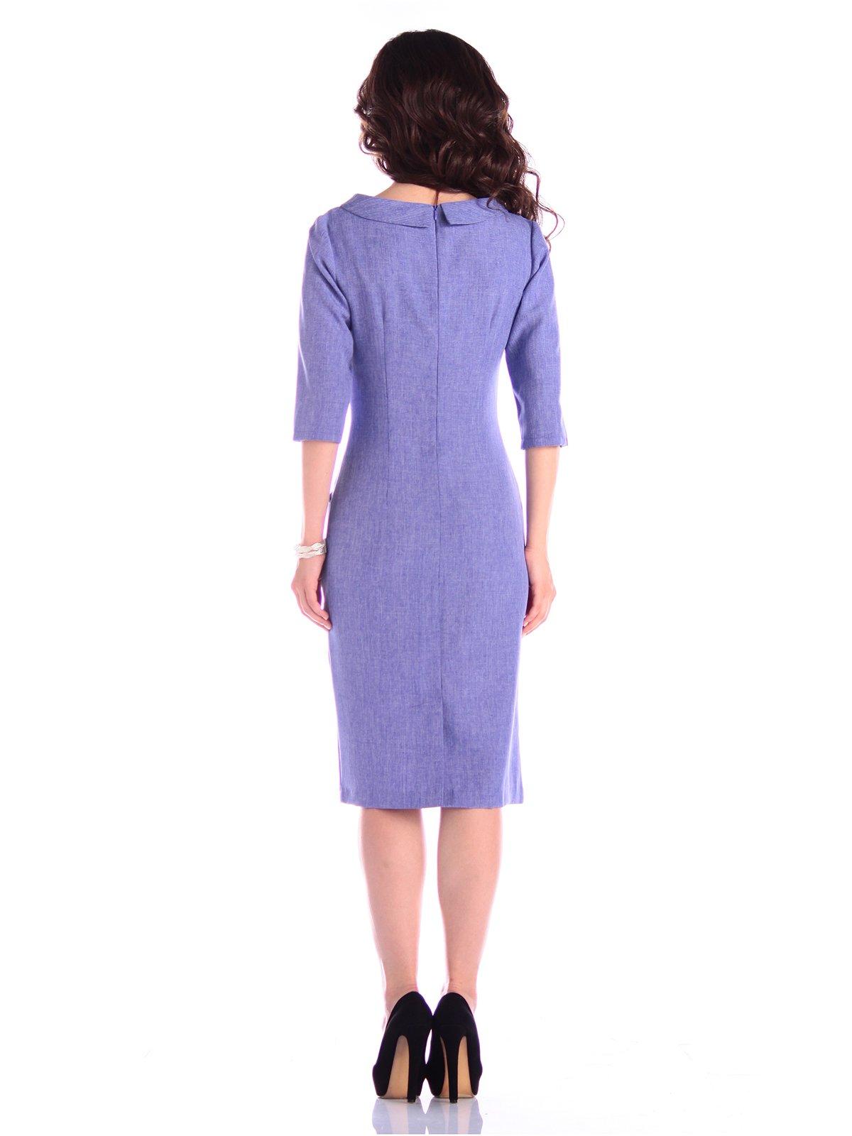 Платье фиолетовое | 3400747 | фото 2