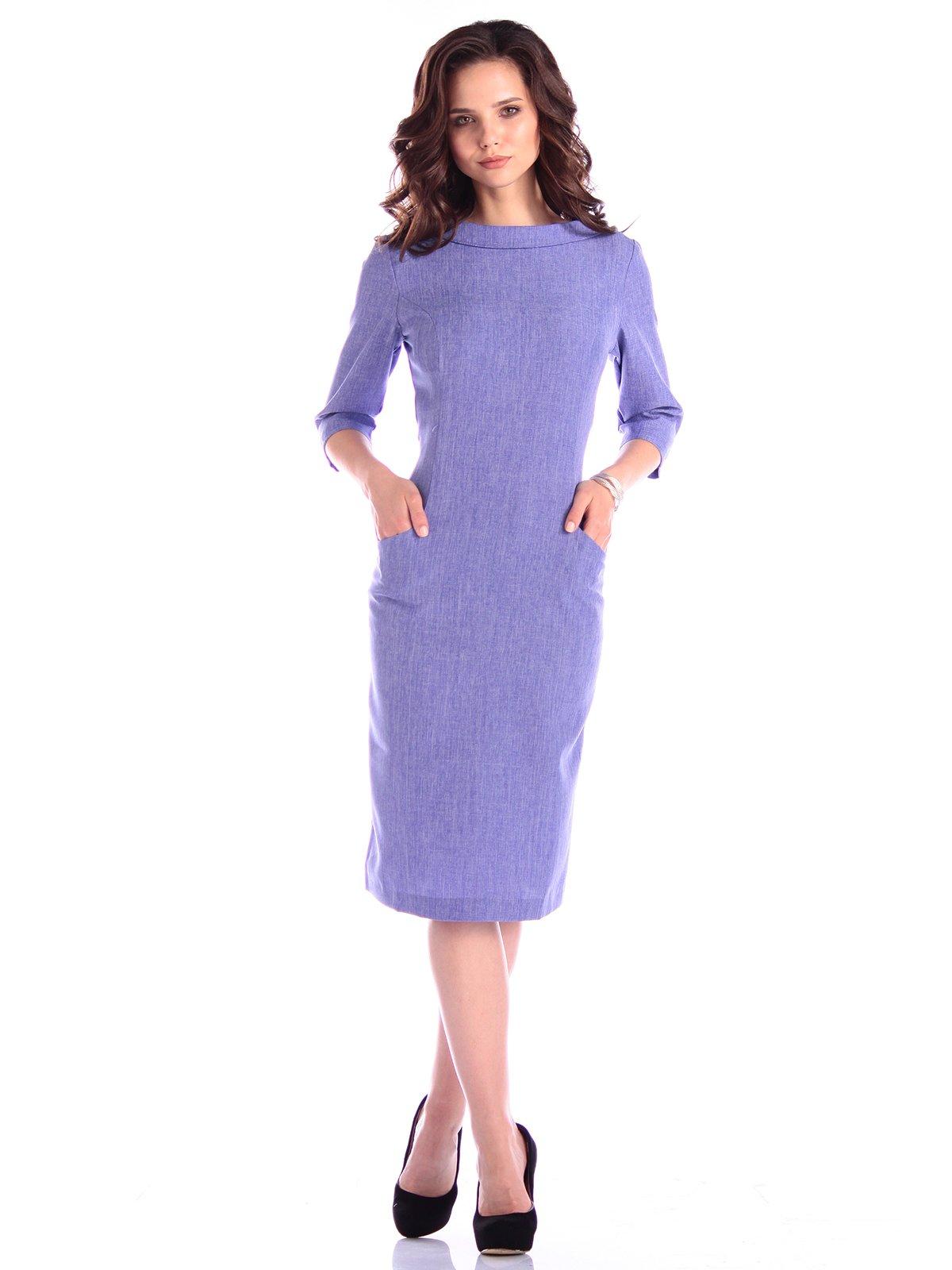 Платье фиолетовое | 3400747 | фото 4