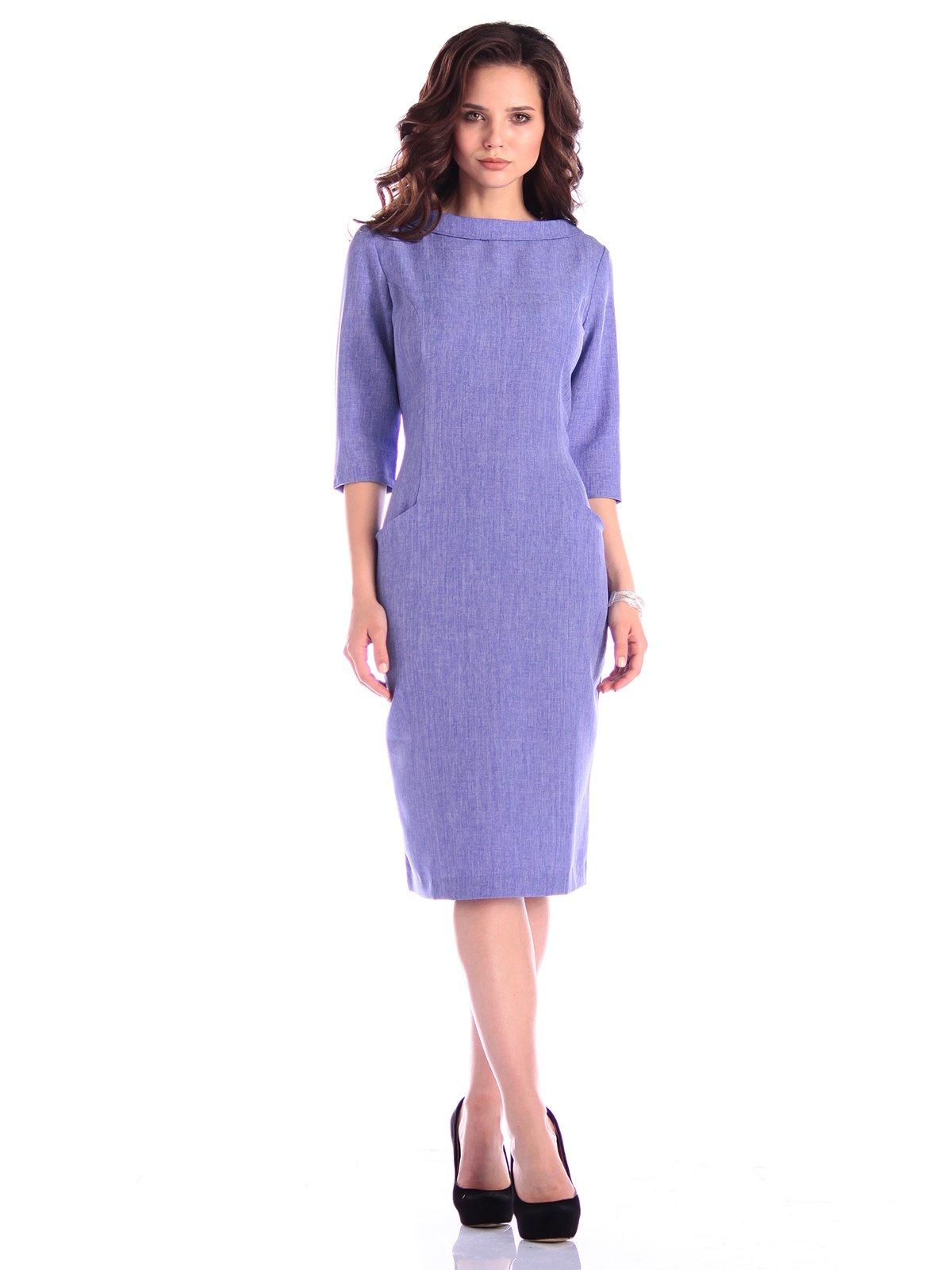 Платье фиолетовое | 3400747 | фото 5
