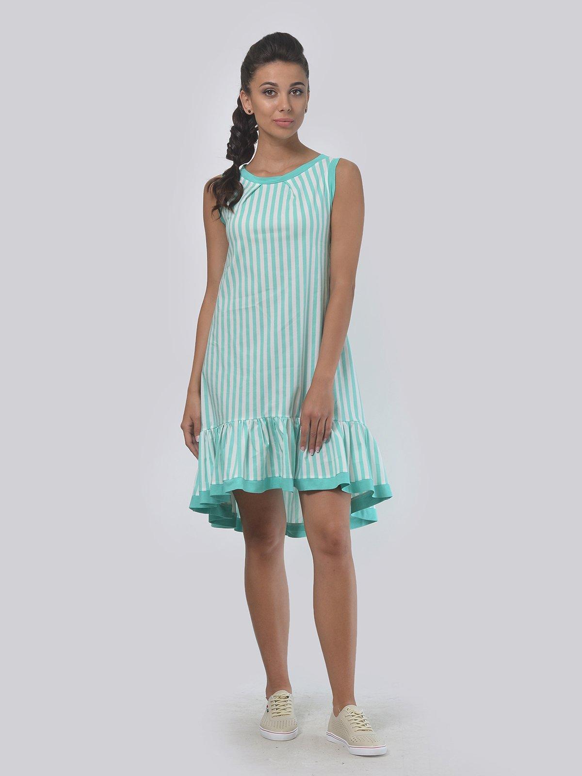 Платье в полоску | 3445170 | фото 2