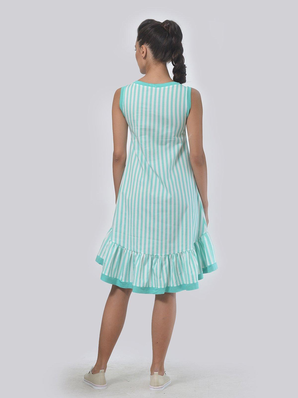 Платье в полоску | 3445170 | фото 3