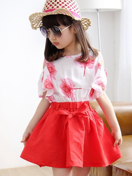 Комплект: блуза і спідниця | 3456900