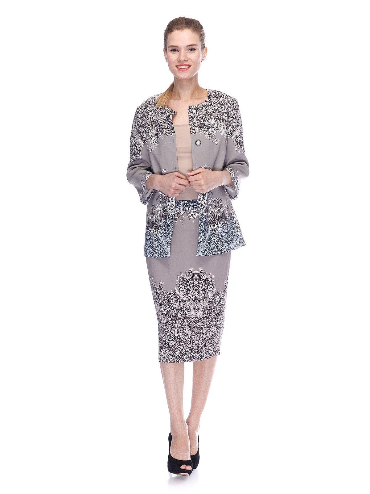 Комплект: жакет и юбка | 3455545