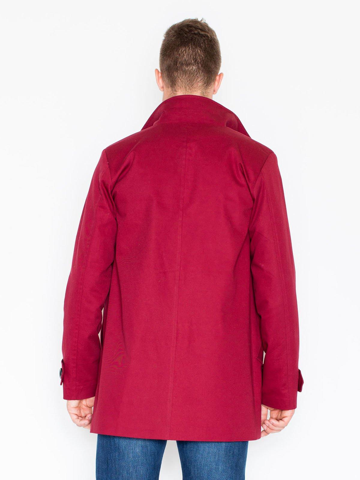 Пальто малиновое | 3464943 | фото 5