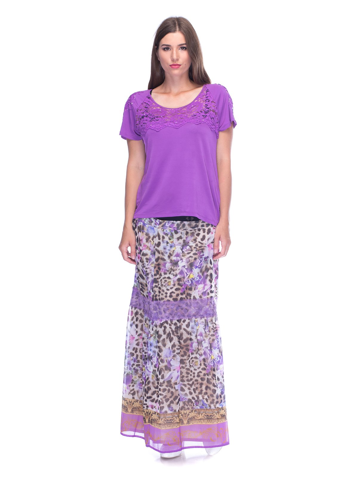 Комплект: блуза і спідниця | 3455555